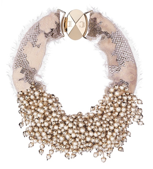 Dior Beaded Necklace F/W 2011
