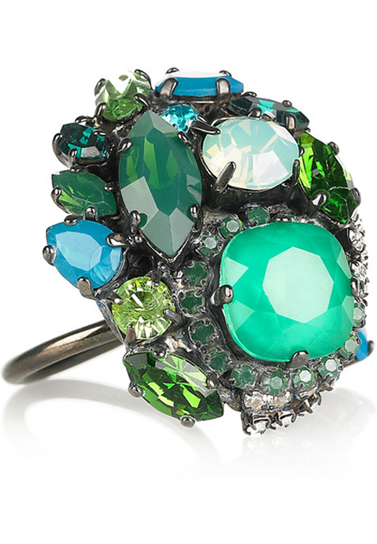 Bossa Nova Ring-Erickson Beamon, Haute Tramp Blog