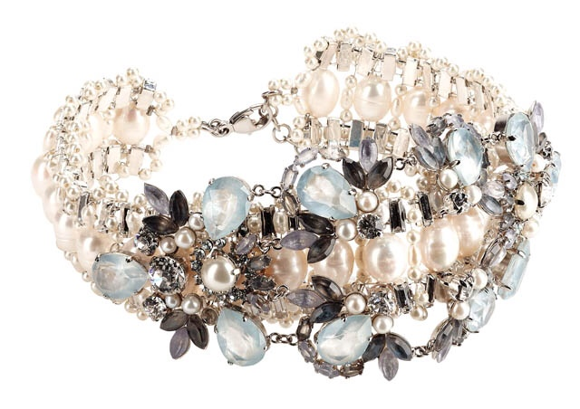 Charming Pearl Beaded Bracelet, Chanel Resort 2013 Collection, Haute Tramp Blog