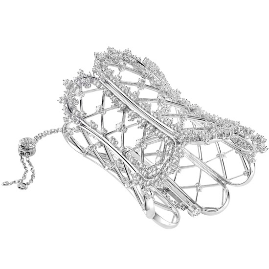 Burlesque WHITE GOLD AND DIAMONDS (CT 18,01) BRACELET by Damiani
