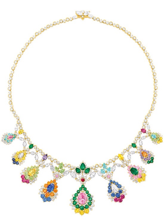 Cher Dior Majestueuse Multi-colored Necklace