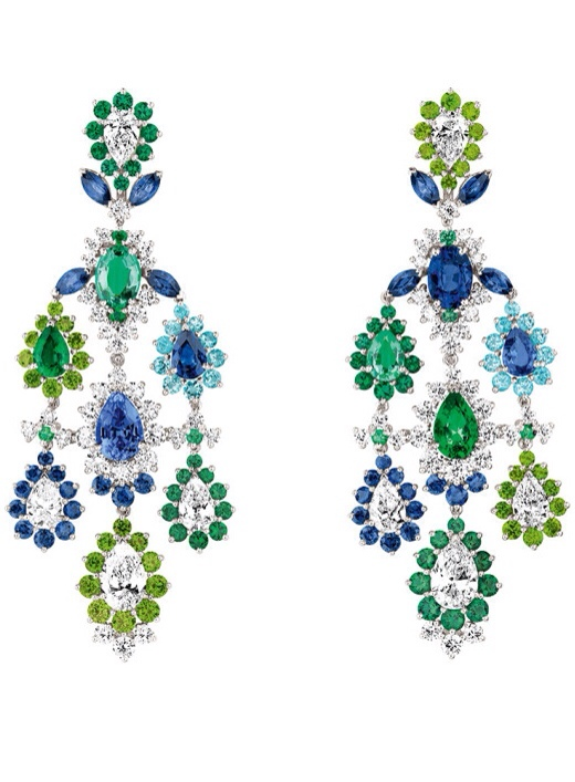 Cher Dior Exquise Emerald Earrings