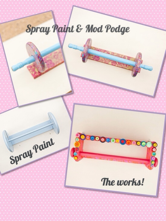 From Drab to Fab: DIY Bracelet Organizer by Haute Tramp