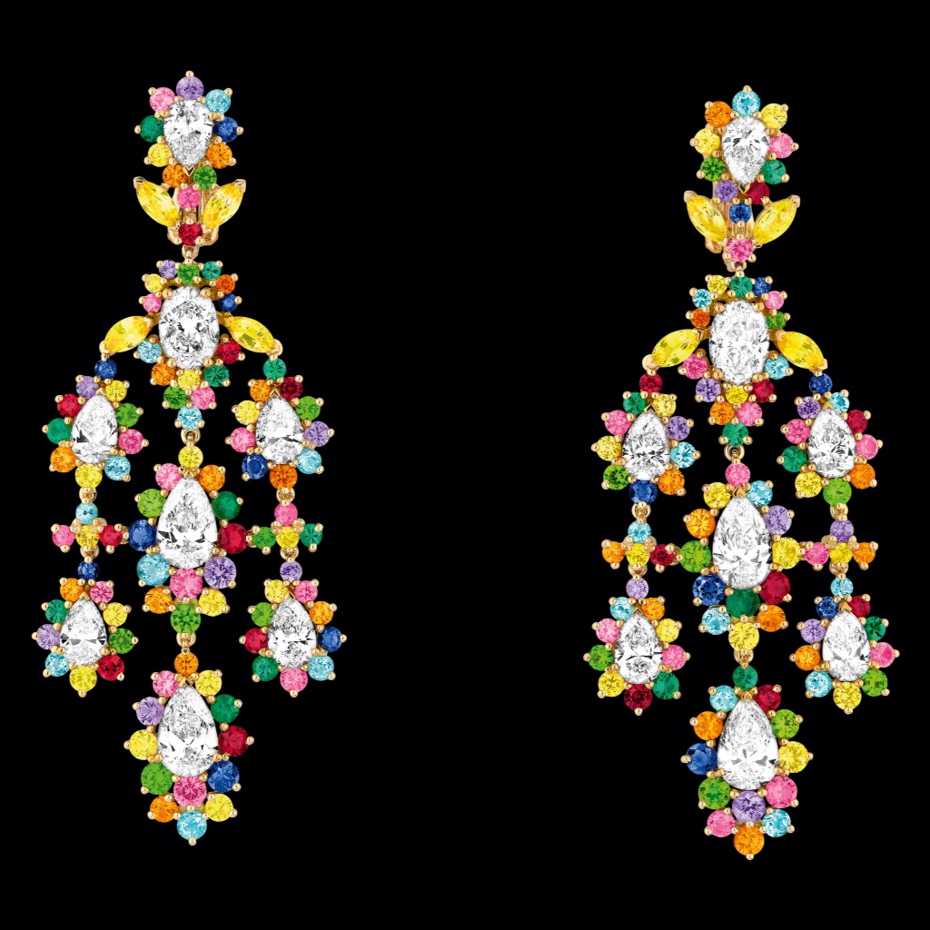 Cher Dior Exquise Diamant Earrings
