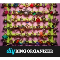 DIY Ring Organizer: Ring It On!