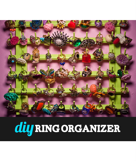 Ring It On!!! | DIY Ring Organizer by Haute Tramp