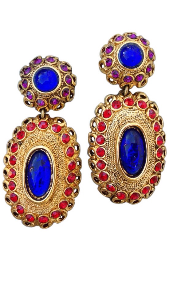 {Vintage Jewel Love} Claire Dev Earrings | Haute Tramp