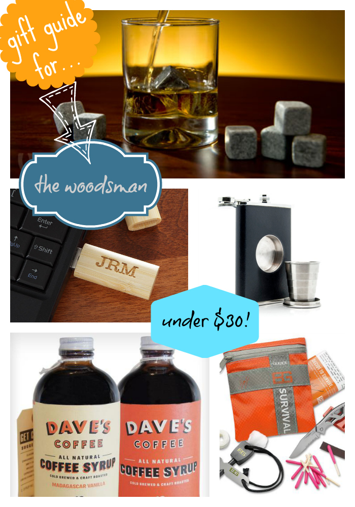 Gift Guide-Enter the Woodsman | 12 Days of Gifting Fabulous