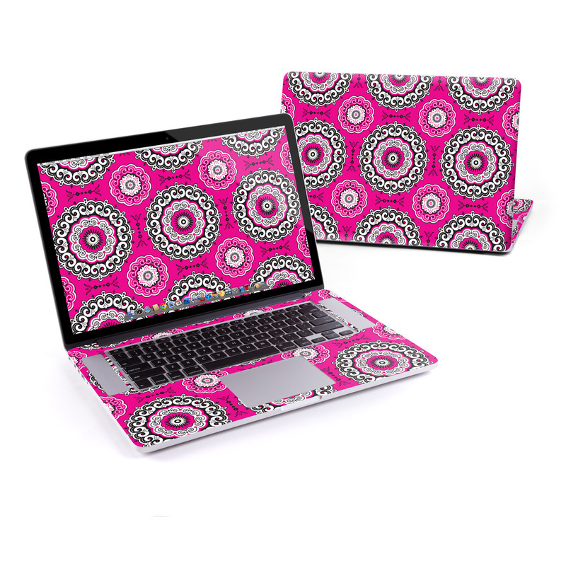 Boho Medallions Macbook Decal | Pink Lovers Gift Guide | Haute Tramp