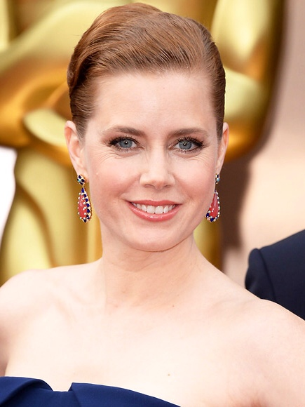 2014 Academy Awards Jewelry-Golden Glowing Starlets-Amy Adams