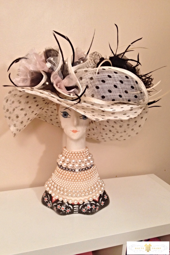 Chanel Inspired Derby Hat by Haute Tramp