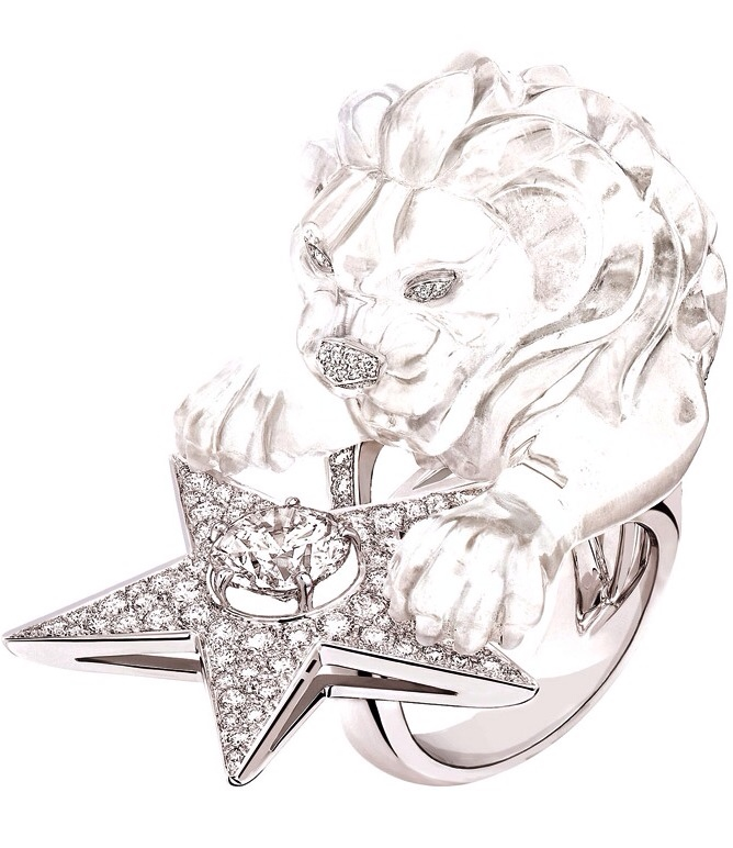 {30 Gorgeous Rings in June} Ring No. 23-Constellation du Lion Ring by Chanel