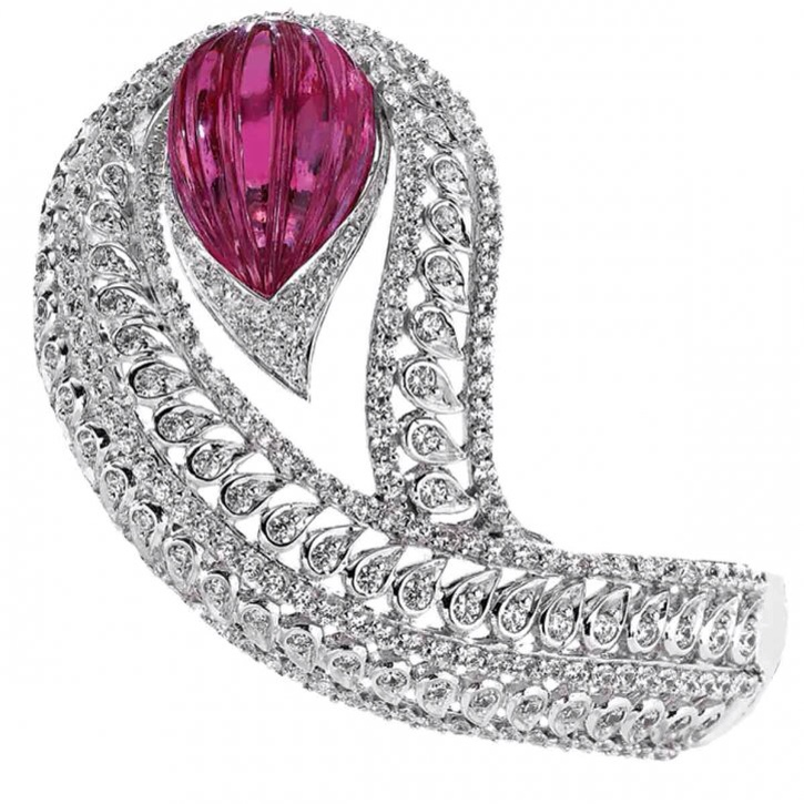 {30 Gorgeous Rings in June} Ring No. 26-Ruby and Diamond Ring By Priority Gems