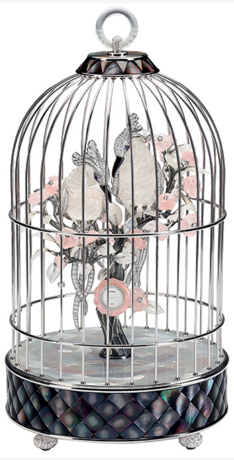 The Birds Cage Clock by Chanel via Haute Tramp
