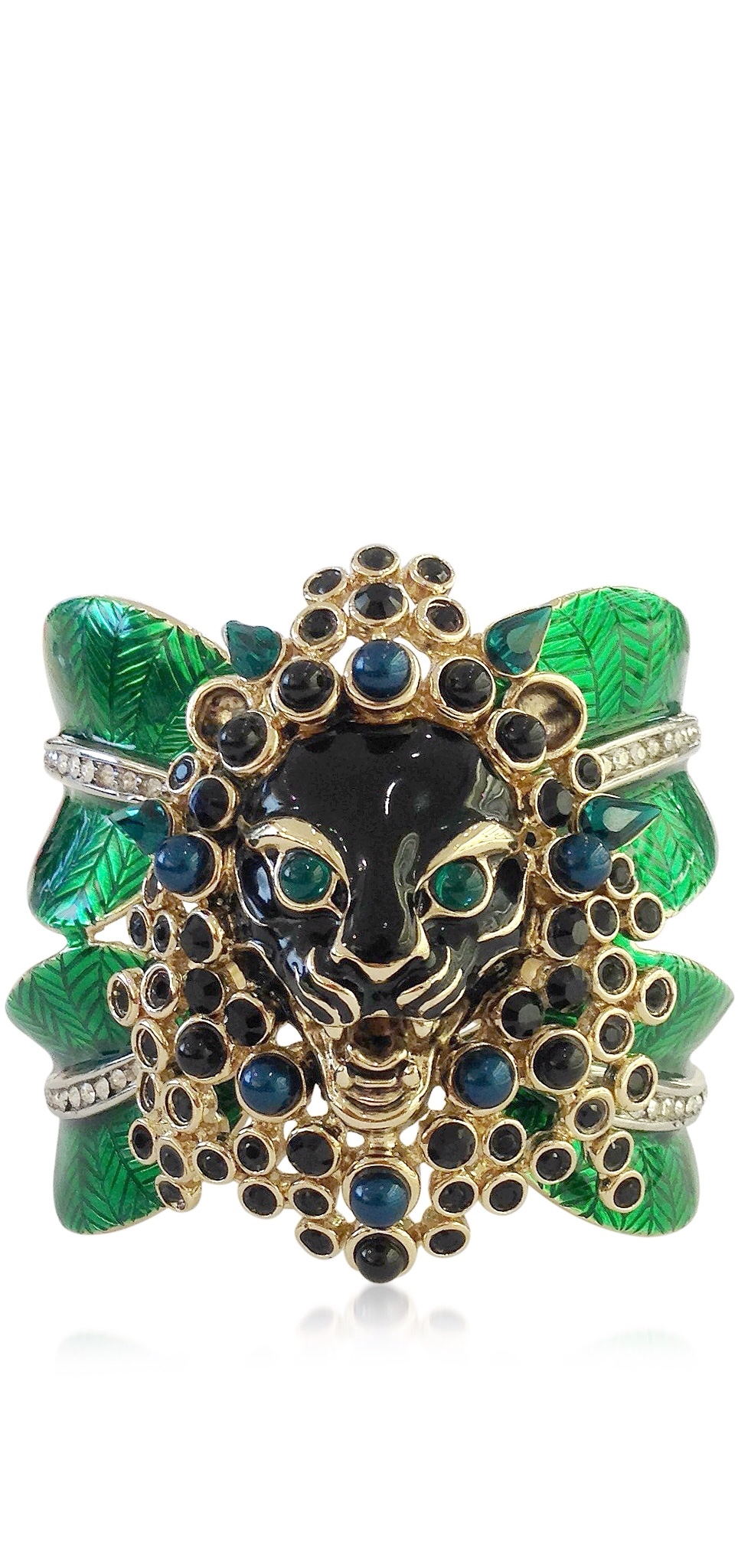 {Spring Statement Jewelry 2015} Crystal Animal Kingdom Bangle Bracelet By ROBERTO CAVALLI
