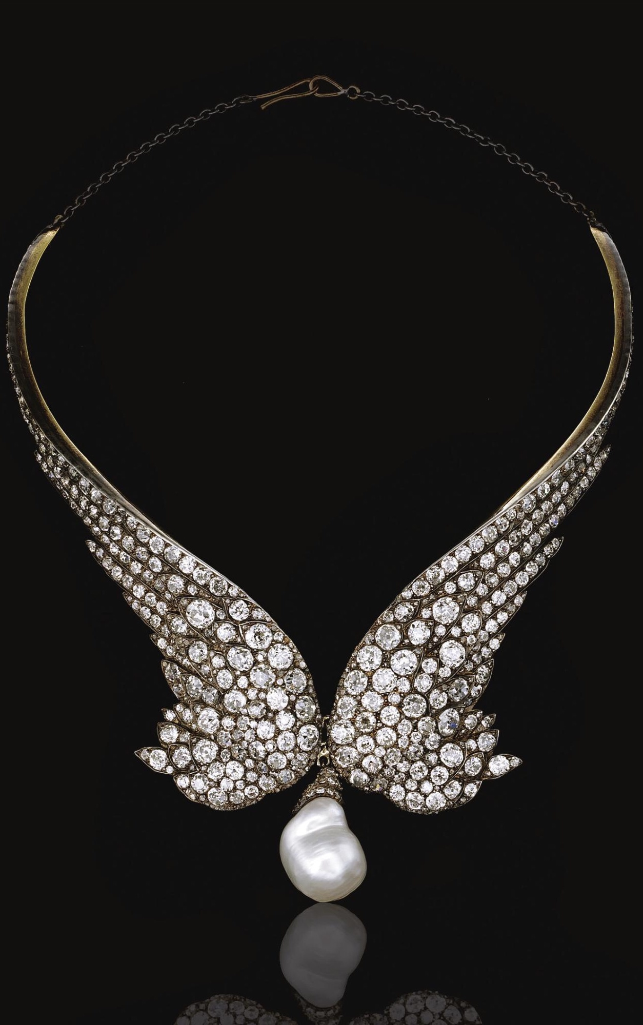 {Daily Jewel} Diamond Necklace of Gorgeous, circa 1860