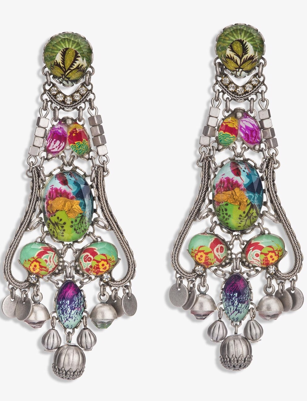 {Smitten} Summer 2015 Radiance Earrings In Pops of Pink Jeweled Hues by Ayala Bar