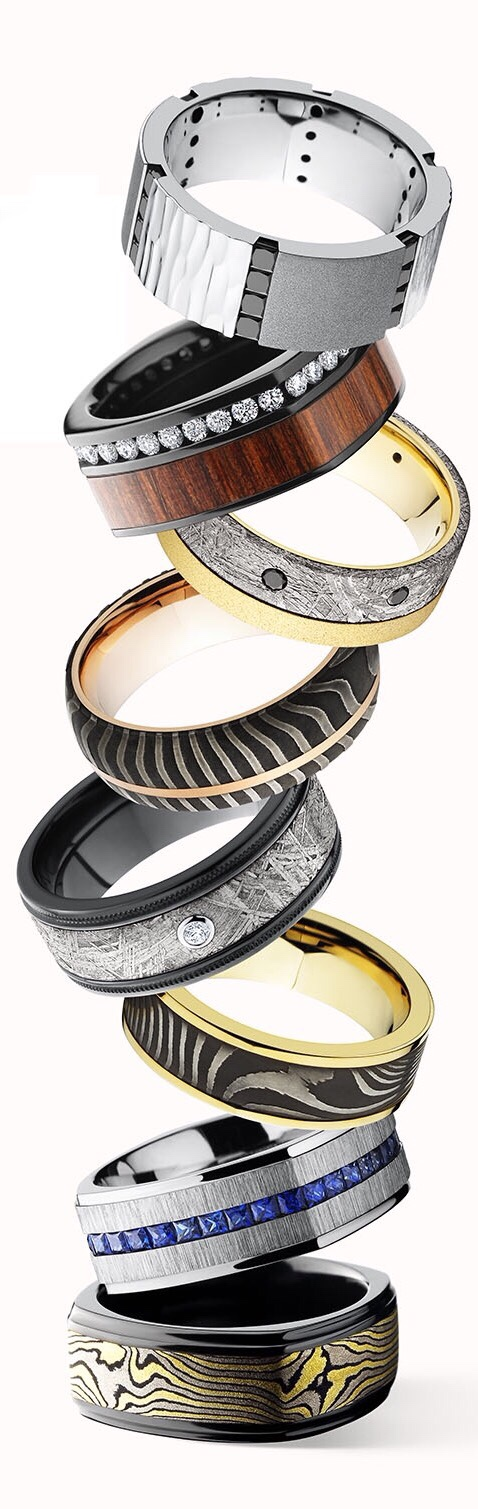 {Daily Jewel} Rings Stacked! By Lashbrook Designs