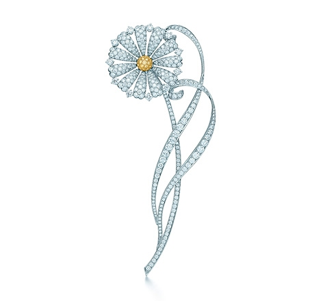 The Great Gatsby Collection Yellow Diamond Daisy Brooch, Tiffany & Co